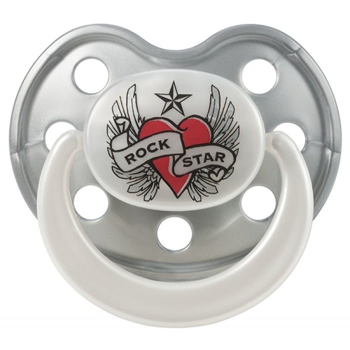 Rock Star Baby Πιπίλα Heart & Wings 0-3m