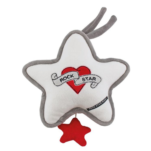 Rock Star Baby Mobile Heart & Wings