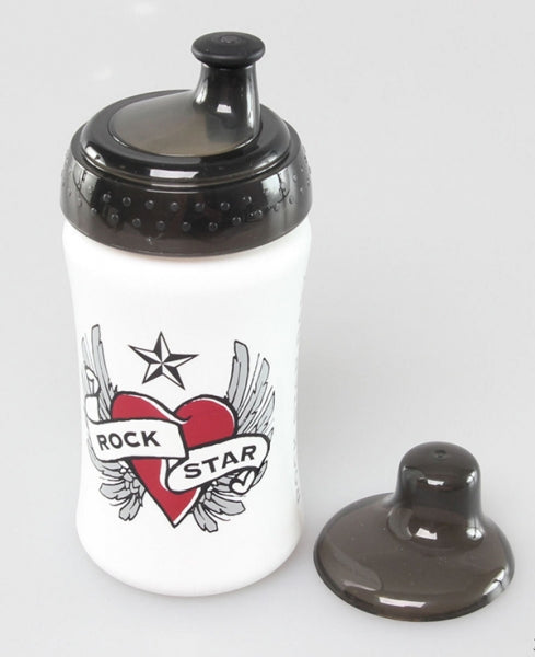 Rock Star Baby Παγούρι 340ml Heart & Wings