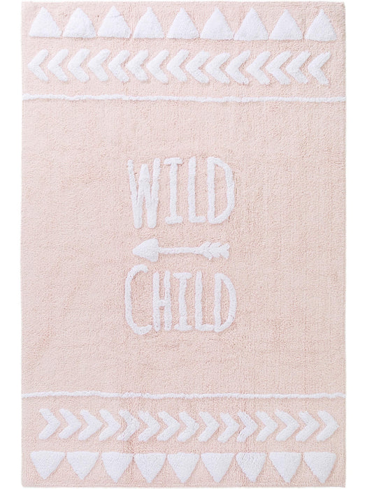 Inka Wild Child Kids Rug Rose