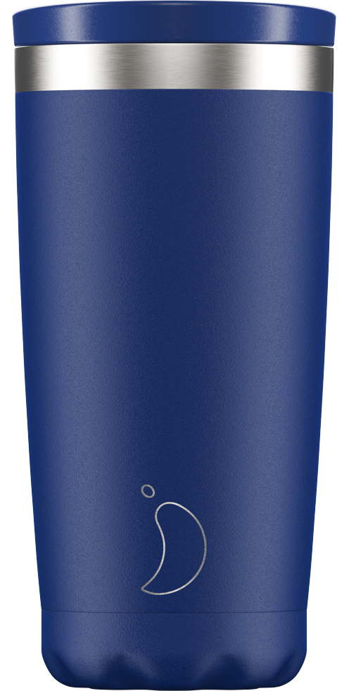 Chillys Coffee Cup 500ml Matte Blue