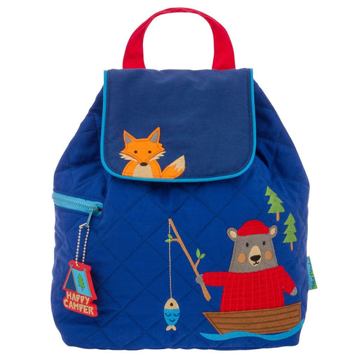Stephen Joseph Quilted Backpack Σακίδιο Πλάτης Bear