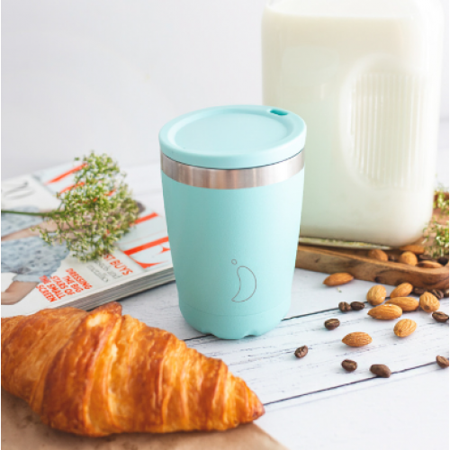 Chillys Coffee Cup 340ml Pastel Green