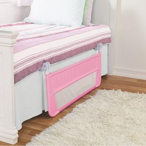 Easy Fit Bed Guard - Lindam Pink