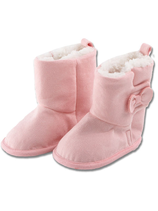 Minene Luxurious Booties Pink Velvet