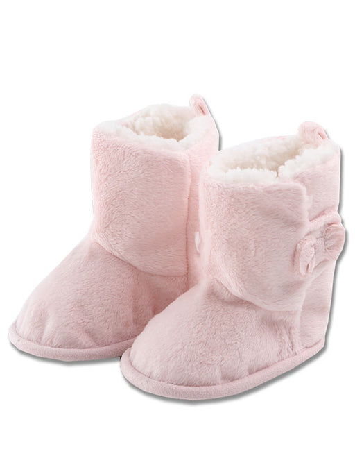 Minene Luxurious Booties Pink