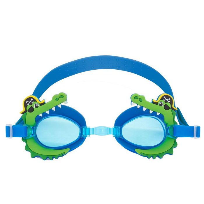 Stephen Joseph Swim Goggles Alligator Pirate