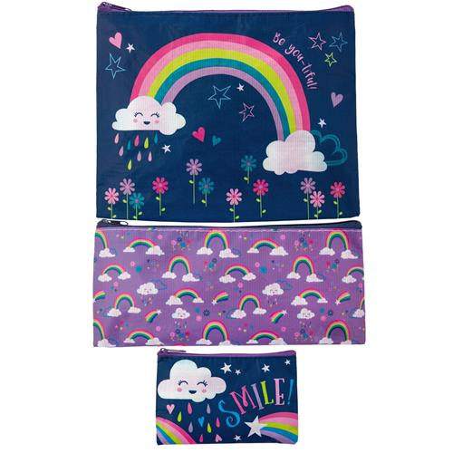 Stephen Joseph Bag Set Rainbow 3τμχ