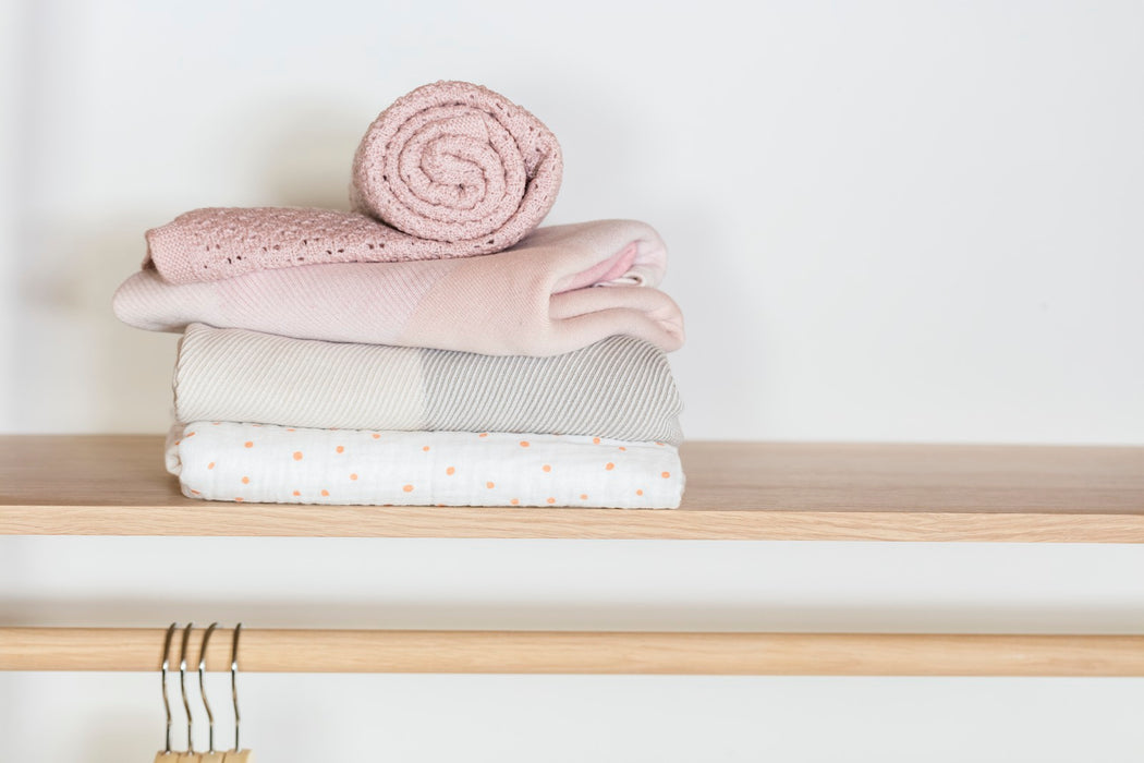 Stokke® Blanket Muslin Cotton Coral Bee