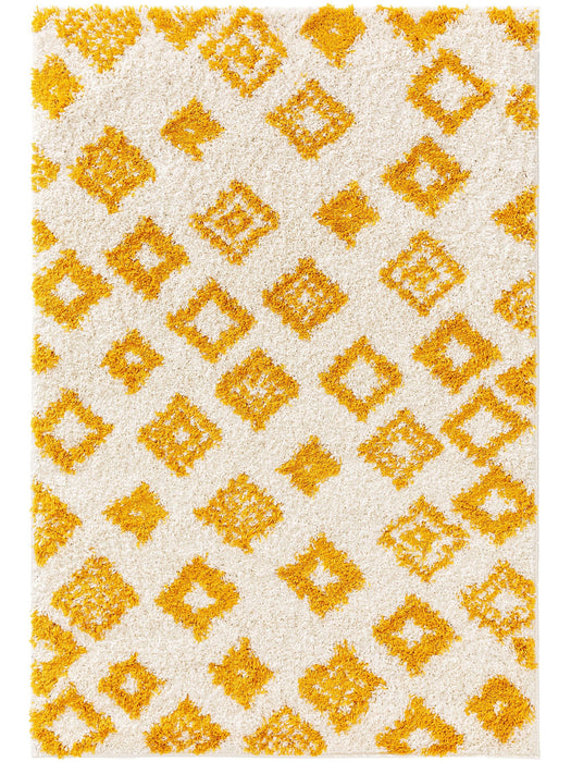 Kids Rug Soho Triangles Yellow