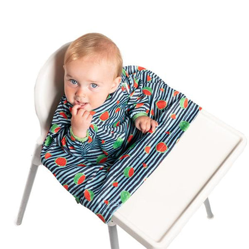 BIBaDO Coverall Highchair Bib Ocean Blue