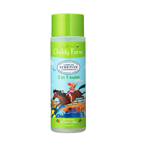 Childs Farm 3in1 Swim Strawberry & Org Mint 250ml