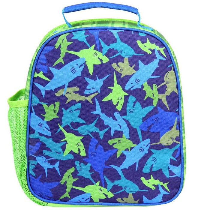 Stephen Joseph Ισοθερμικό Τσαντάκι Φαγητού All Over Print Backpack Shark