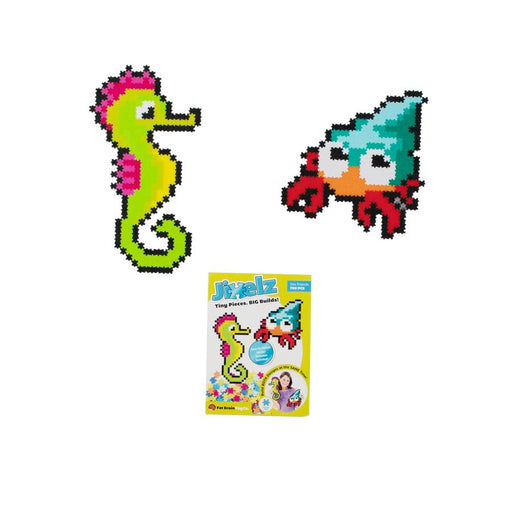 Fat Brain Toys - Jixelz 700pcs Set - Sea Friends