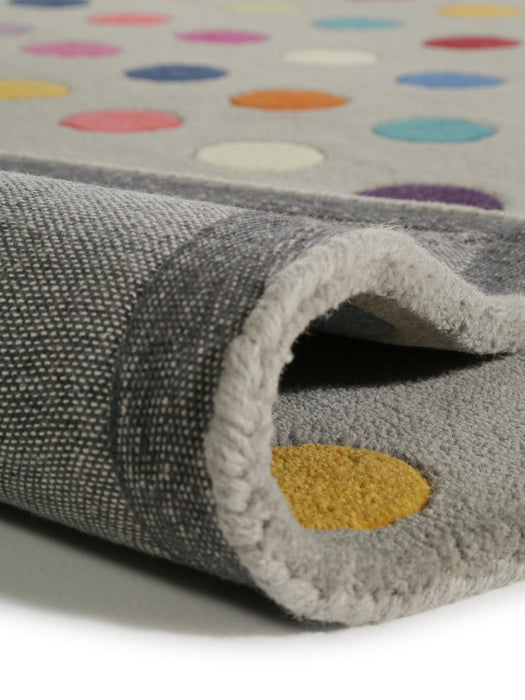 Wool Rug Funk Multicolour Dots