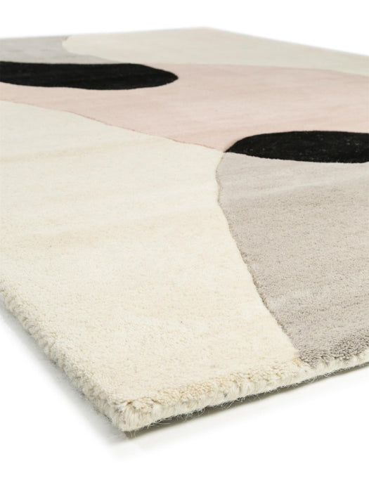 Wool Rug Matrix Beige/Rose