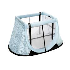 Παρκοκρέβατο Ταξιδιού Instant AeroMoov Travel Cot Light Blue Black