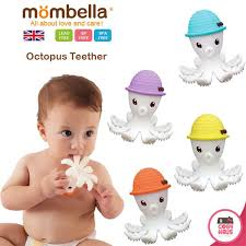 Baby-to-Love Μασητικό 3D Octopus Teether Μωβ