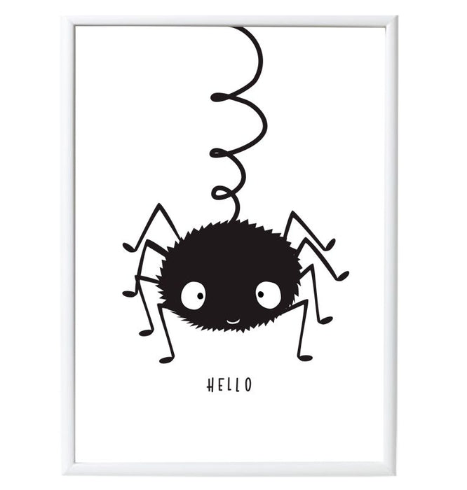 Little Lovely Company Poster Spider