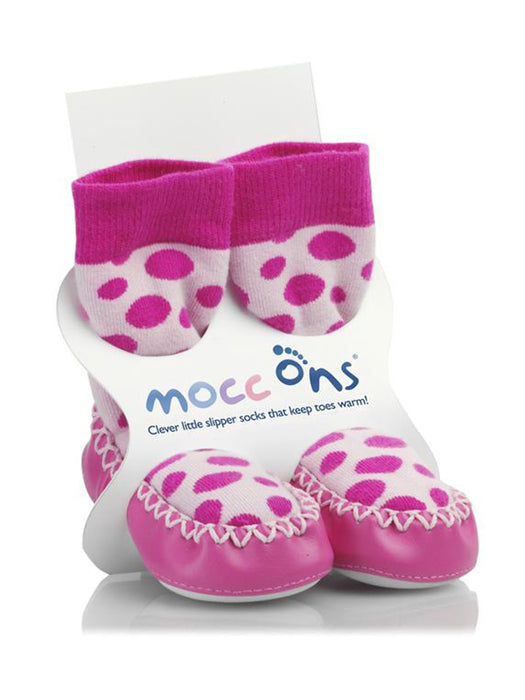 Mocc Ons Pink Spots