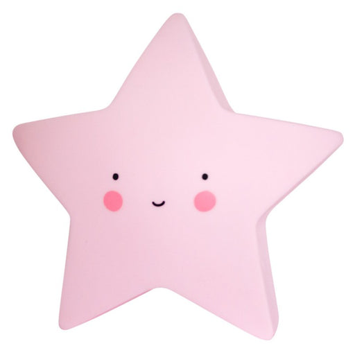 Mini Night Light Star Pink