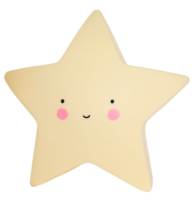 Star Night Light Yellow
