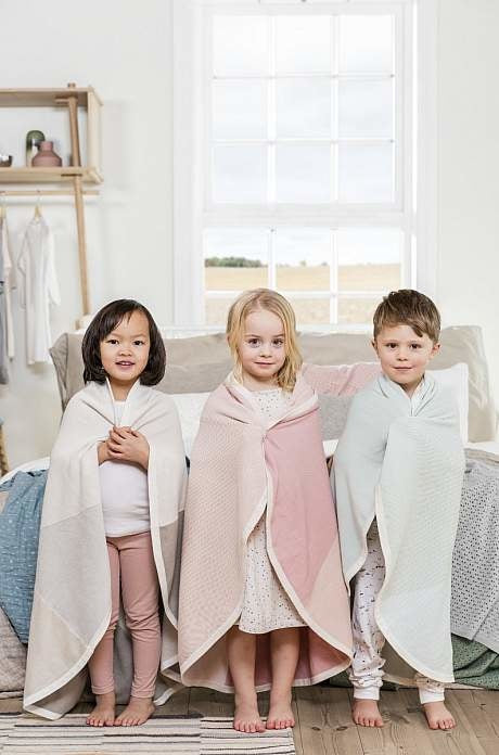 Stokke® Blanket Cotton Knit Beige