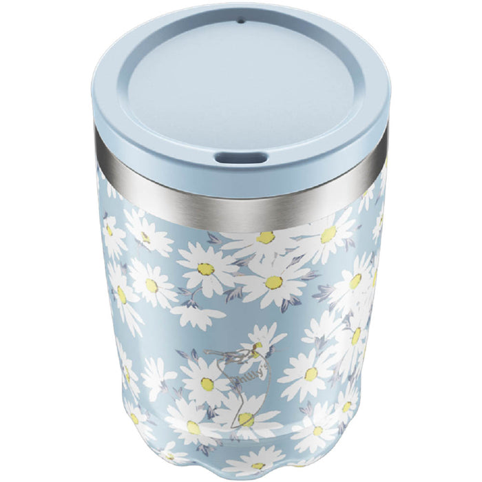 Chillys Coffee Cup 340ml Floral Daisy