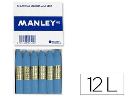 Manley 53 - Wax Crayons, Pack of 12