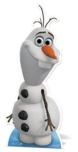 Frozen Life Size Cutout of Olaf
