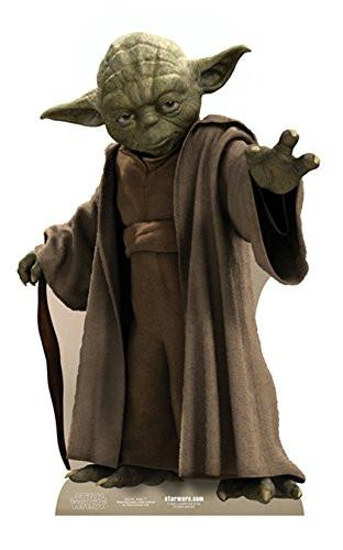 Star Cutouts Cut Out of Yoda