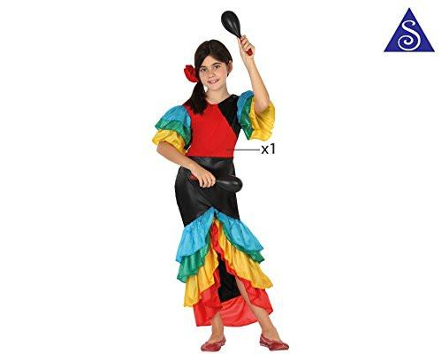 atosa 26872 - Samba, Children's Size 140 cm Multi-Coloured