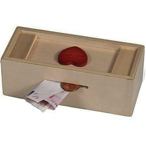 "Fridolin 17601 ""Heart"" Money Present Box"