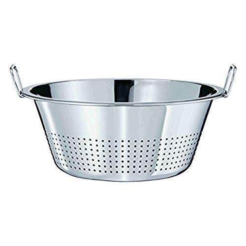 Rosle Colander with Beaded Edge, 40 cm,Stainless Steel