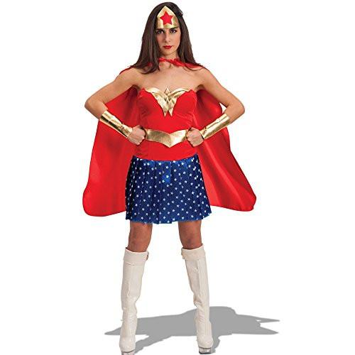 Carnival Toys 80917 Super Woman Fancy Dress Costume - Medium/Large