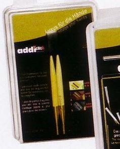 Addi Click 4.5 mm Bamboo Needle Tips