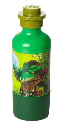 LEGO Licensed Collections 40551719 - Legends of Chima Drinking Bottle with Cragger Design, Green