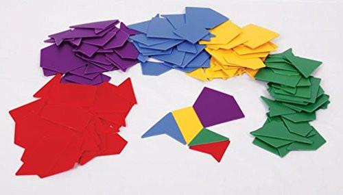 "Inspirational Classrooms 3600105 ""Assorted Polygons"" Educational Toy"
