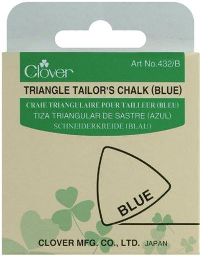 Clover Triangle Tailors Chalk, Blue