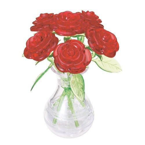Crystal Puzzle 59171 - 3D Puzzle - Red Roses