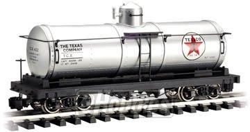 "Bachmann Industries Tank Car - TEXACO - Large ""G"" Scale Rolling Stock"
