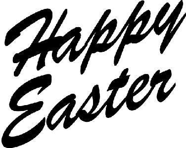 Art Stamps Happy Easter Stamp