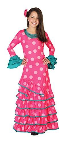 atosa 26534 - Flamenco Pink Girl Size 4-5 Years - Pink