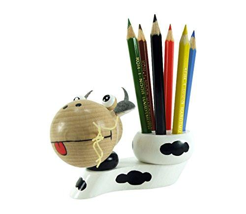 "ABA ABA43011 ""Nora\"" Cow Pencil Holder"