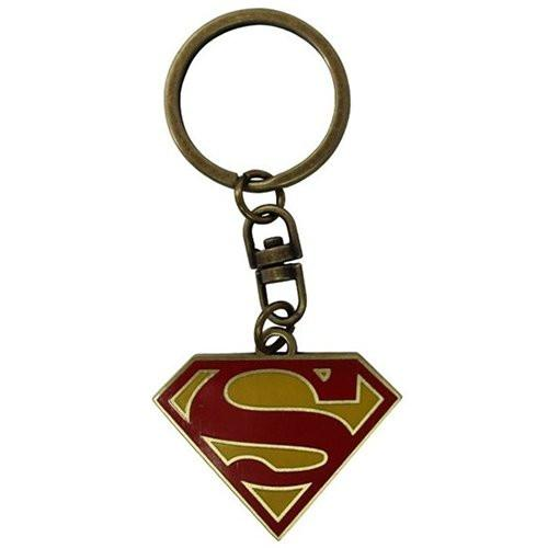 ABYstyle Superman Logo Keychain (Multi-Colour)