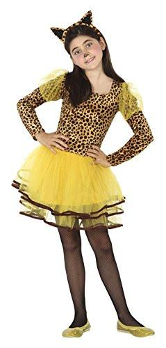 atosa 26496 - Leopard, Boy, Size 128, Brown/Yellow