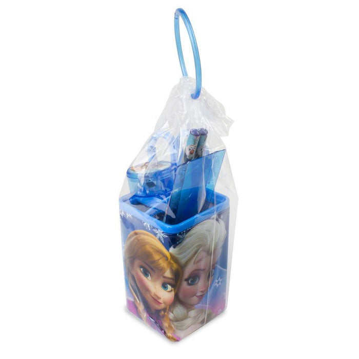 "Frozen DARP-CFRO053 ""Disney Frozen Pencil Box Holder"" School Set (6-Piece)"