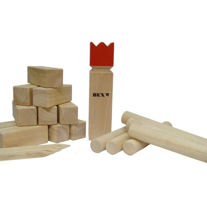 Bex KUBB Games - Multi-Colour (Minature size)