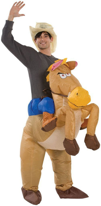 Inflatable Costumes (Cowboy On Horse)