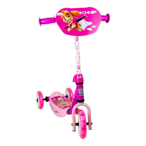 Paw Patrol DARP-OPAW110-F Skye Three Wheel Scooter with Adjustable Handlebar